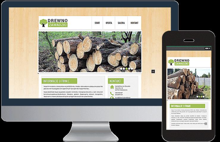 Sprzedaż drewna Zawadzki
