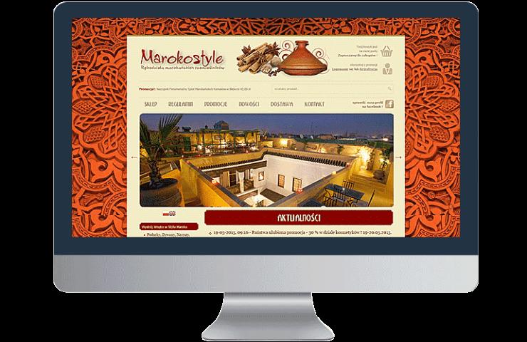 Maroko - sklep