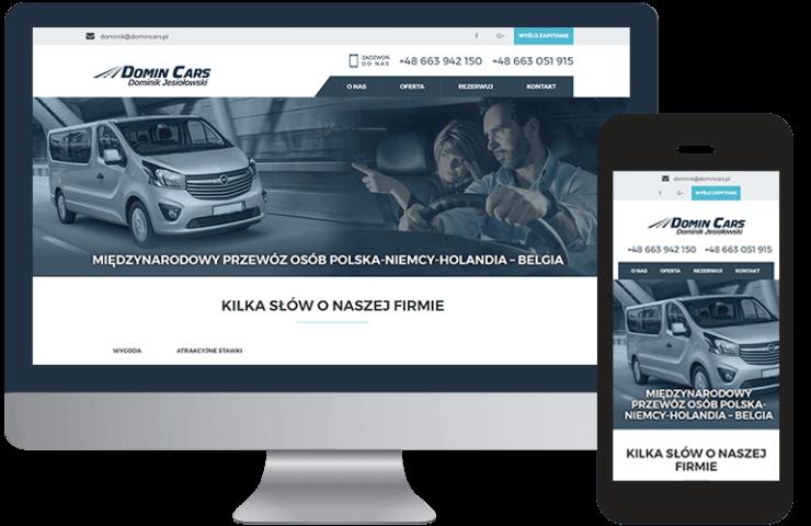 Domincars.pl Przewóz osób do Holandii Niemiec